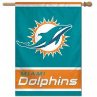 Miami Dolphins Vertical Banner