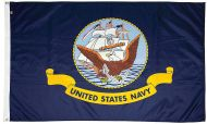 4' X 6' Mil-Tex Military-Grade Navy Flag