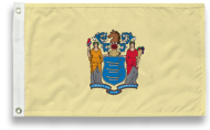 3' X 5' State-Tex Commercial Grade New Jersey State Flag