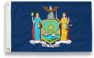 5' X 8' State-Tex Commercial Grade New York State Flag