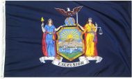 12 x 18 Inch Nylon New York State Flag