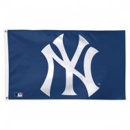 Deluxe 3' X 5' Blue New York Yankees Flag
