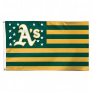 Oakland A's Stars and Stripes Flag