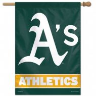 Oakland A's Vertical Flag