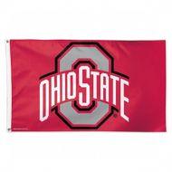 3'x5' Deluxe Ohio State University Flag