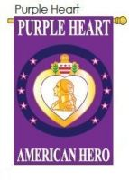 Purple Heart American Hero Banner