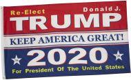Re-Elect Donald J. Trump 2020 Flag