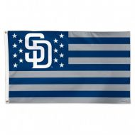 San Diego Padres Stars and Stripes Flag