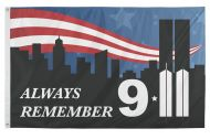 9/11 Towers Flag