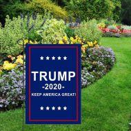 Trump 2020 Keep America Great Garden Banner