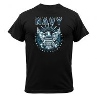 Black Navy Emblem T-Shirt