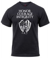 Honor Courage Integrity Athletic Fit T-Shirt