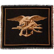 Navy Special Warfare Seal Throw Blanket