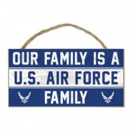 U.S. Air Force Wood Sign with Rope