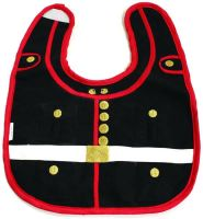 U.S. Marine Corps Dress Blue Design Baby Bib