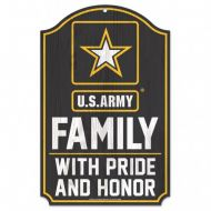 US Army Family Sign