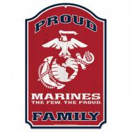 US Marine Corps Family Sign