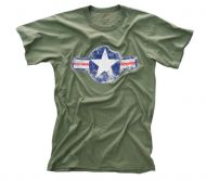Vintage Army Air Corps T-Shirt - Olive Drab