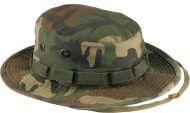 Woodland Camo Vintage Boonie Hat