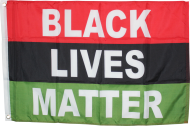 Black Lives Matter African Movement 2'x3' Flag