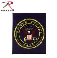 US Navy Fleece Blanket