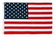 2-1/2' X 4' Econo-Poly US Flag
