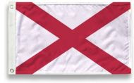 4' X 6' State-Tex Commercial Grade Alabama State Flag