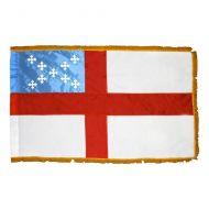 Fringed Episcopal Flag - 4 ft X 6 ft