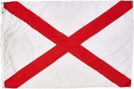 3' X 5' Nylon Alabama State Flag