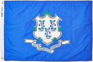 5' X 8' Nylon Connecticut State Flag