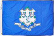 6' X 10' Nylon Connecticut State Flag