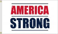 America Strong Flag (White)
