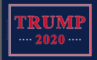 Heavyweight Nylon Trump 2020 Flag - Made in USA