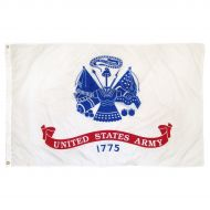 12 X 18 Inch Nylon Army Flag