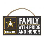 U.S. Army Wood Sign with Rope