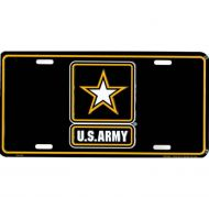 U.S. Army Star License Plate