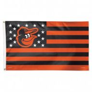 Baltimore Orioles Stars and Stripes Flag