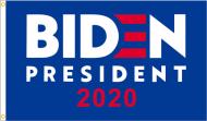 Joe Biden 2020 Premium Flag - Blue