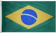 4' X 6' Nylon Brazil Flag