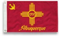 City of Albuquerque Flags