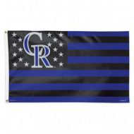 Colorado Rockies Stars and Stripes Flag