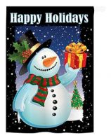 Holiday Snowman Banner