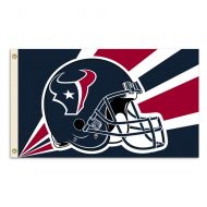 3' X 5' Houston Texans Helmet Flag