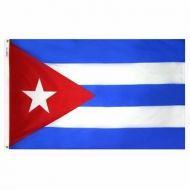 """12"""" X 18"""" Nylon Cuba Flag"""