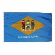 2' X 3' Nylon Delaware State Flag