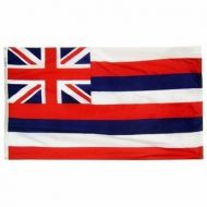 12 X 18 Inch Nylon Hawaii State Flag
