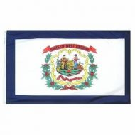 12 X 18 Inch Nylon West Virginia State Flag