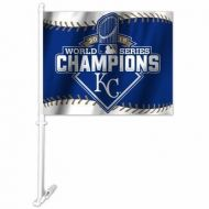 2015 World Series Champs Kansas City Royals Car Flag