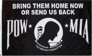 3' X 5'  Bring Them Home POW-MIA Flag