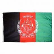 3' X 5' Nylon Afghanistan Flag